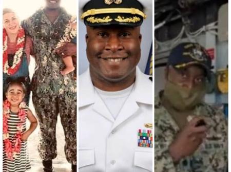 Meet Kelechi Ndukwe, an Igbo man, who is the first Nigerian-American to captain a U.S. Naval Ship
