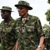 Photos Of Buhari, Idris Deby and Other African Presidents In Military Attire
