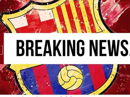 Barcelona could announce the signing of in-form Spanish attacking winger