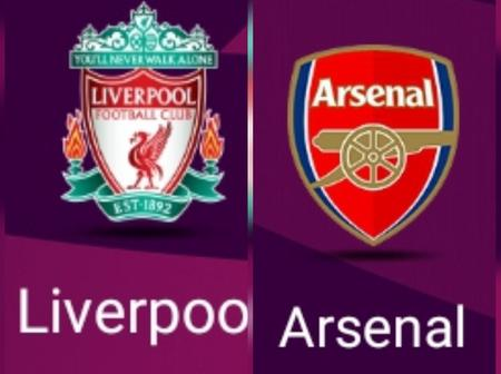 Liverpool Vs Arsenal: see their head-to-head stats (last five matches)