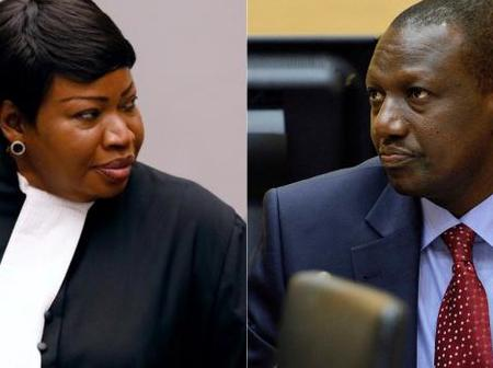 Ruto To Go Back To The ICC? See What Bensouda Has Said Concerning His ICC Case