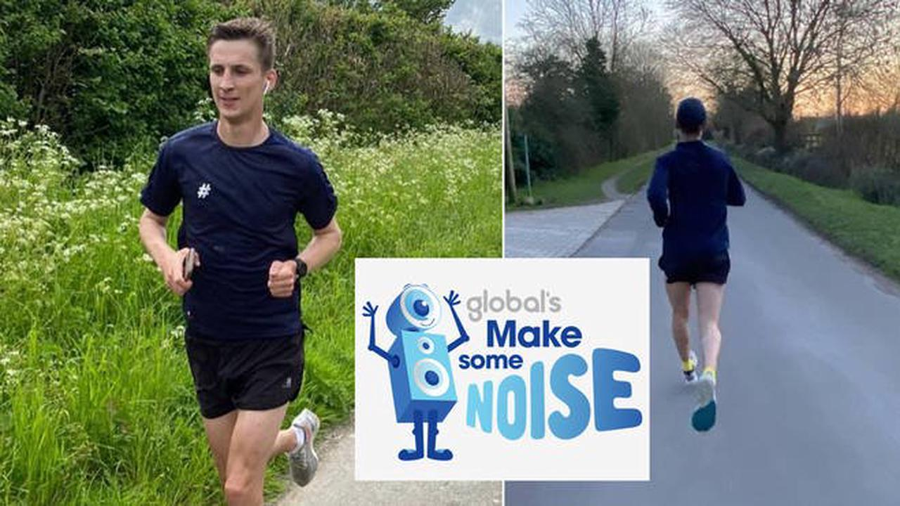 How to support Tom Dell's Olympic running challenge for Global's Make Some Noise