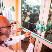 Gov. Akeredolu Names Building After Late Health Commissioner In Ondo State
