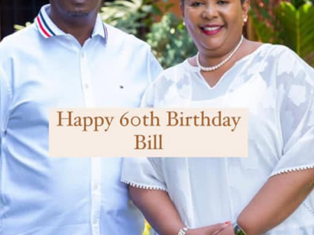 Kabogo's Wife Showers His Husband With Praise on His 60th Birthday