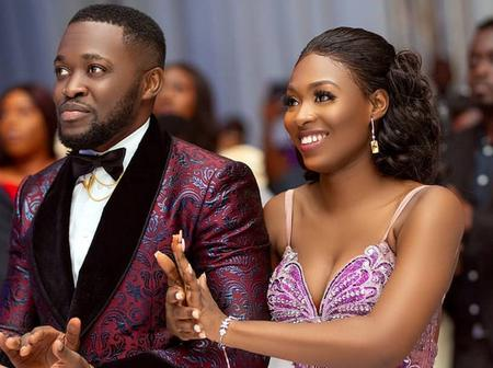 Kency Birthday: Check Out The Sweet Birthday Message Kennedy Osei Sent His Wife, Tracy And Photos