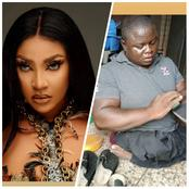 Angela Okorie And Other Celebs Celebrate Physically-Challenged Man Who Makes A Living From Making Shoes