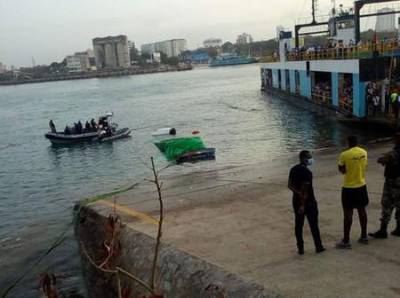 Trailer plunges into sea at Likoni Channel, just two days after tour bus suffers same tragedy.