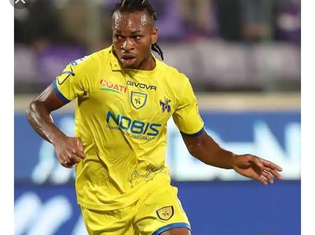 Obi Apologises After Bagging Red Card In Chievo Home Loss