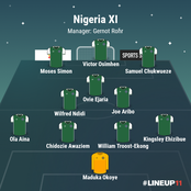 How Nigeria's Super Eagles could line up to win their next continental assignment