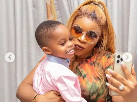 Yvonne Jegede, Nkechi and others reacted after Laura Ikeji flaunted her children in new photos.