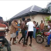 After This Okada Man Stabbed Someone To Death Because of N300, See What The Youths Did to Him