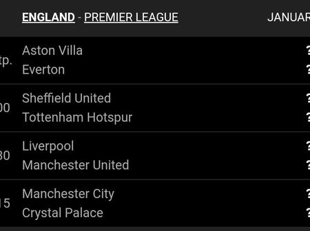 Check out upcoming Premier League matches this weekend.