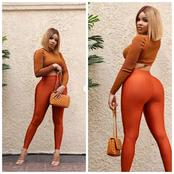 Fans react as Reality Star, Nengi Shares Breathtaking Photos of herself wearing a sexy outfit.