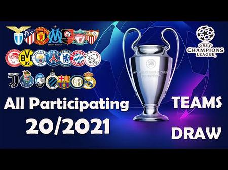 Checkout the Champions league draws as Manchester united face PSG and Ronaldo will face messi