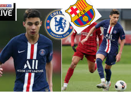 Barcelona Set To Capture Chelsea Move For PSG Play Maker