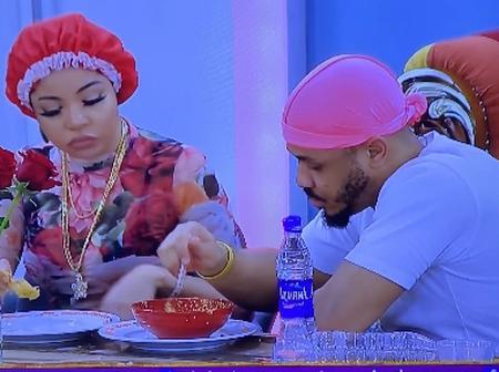 BBNaija: 6 Times Ozo And Nengi Made Eating Together Look Romantic (Photos)
