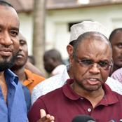 Amason Kingi Breaks Silence After his Wednesday Clash With Raila in Kilifi