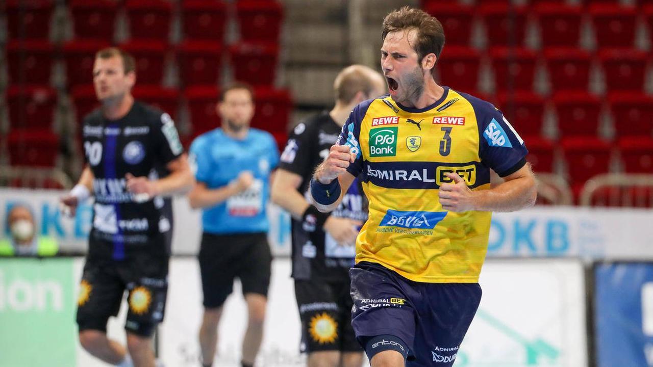 Handball: Gensheimer-Gala bei Löwen-Sieg - SC Magdeburg baut Siegesserie aus