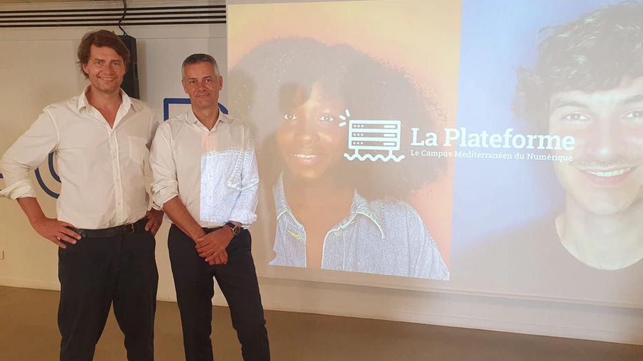 «La Plateforme», école gratuite du numérique à Marseille, reçoit le soutien financier d'Amazon France