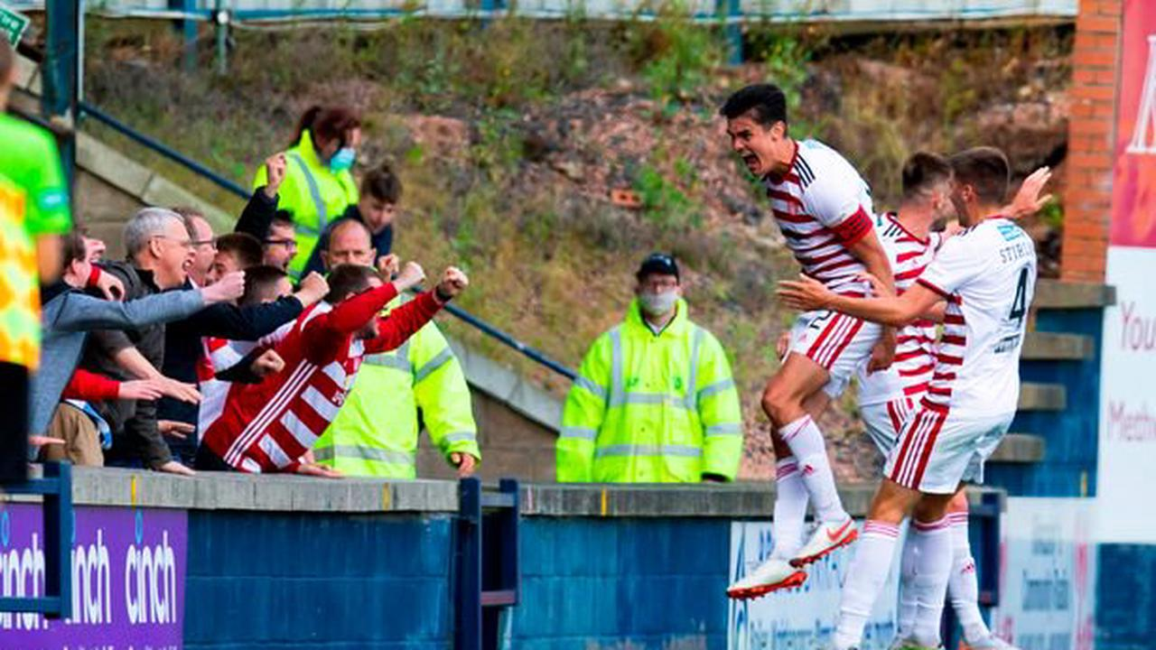 Hamilton Accies' Shaun Want admits celebrating with fans was a special moment