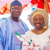 See Pictures Of Governor Fayemi And His Beautiful Wife