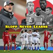 Checkout The 'MISTAKE' Jurgen Klopp Made Against Real Madrid Yesterday
