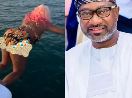 See what DJ Cuppy is begging her fans, Hours after she Apologized To Her Dad For jumping into A Sea.