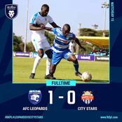 Ten Man Ingwe Snatch A Last Minute Goal Against Nairobi City Stars To Go Second