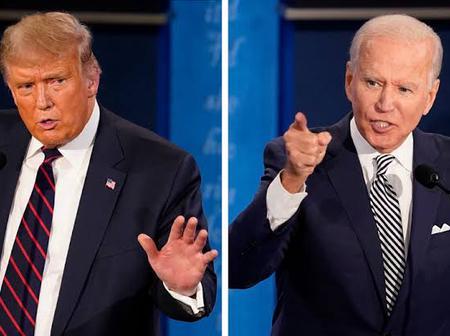 See What Trump did to President Elect Joe Biden that got people talking.
