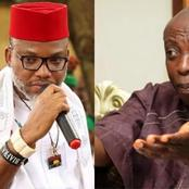 Nnamdi Kanu Replies Uwazuruike Over Claims That ESN Is Not A Legal Security Outfit