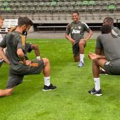 Photos: Manchester United players training ahead of Europa League Semi-finals against Sevilla