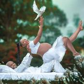 Most Scary Baby Bump Photo-shoot I've Seen; How Did They Do It?(Photos)