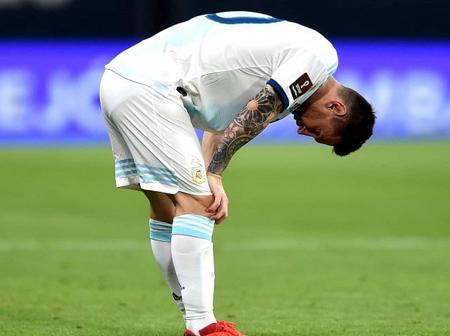 Lionel Messi had stomach discomfort during the Paraguay game