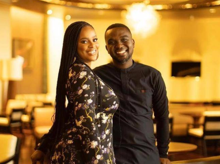 Few Months After They Got Married, See Lovely Photos Of Joe Mettle And His Wife