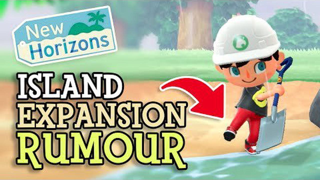 Animal Crossing: New Horizons : Une extension de l'île en approche ?