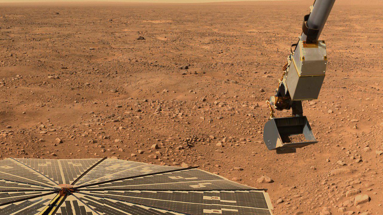 On sait à quoi ressemble l'intérieur de Mars