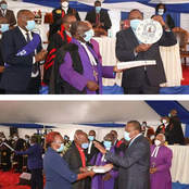 President Uhuru Kenyatta And Dr William Ruto Today Attended Different Church services
