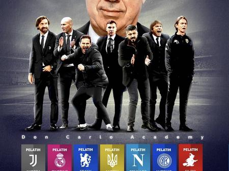 7 Top Managers You Never Knew Played As Professionals Under Carlo Ancelotti