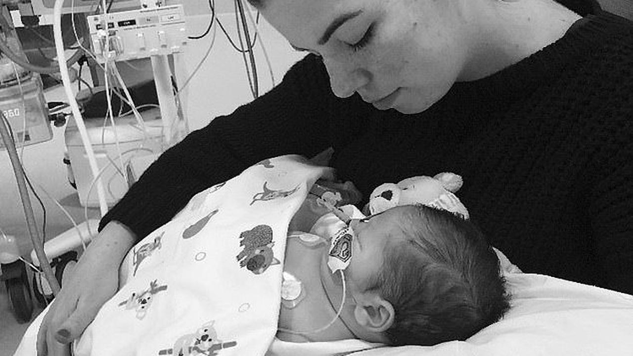 Devastated mum who had such a strong feeling that 'something was wrong' during her pregnancy that she didn't hold a baby shower shares her pain after her son Noah died at just 12 days old
