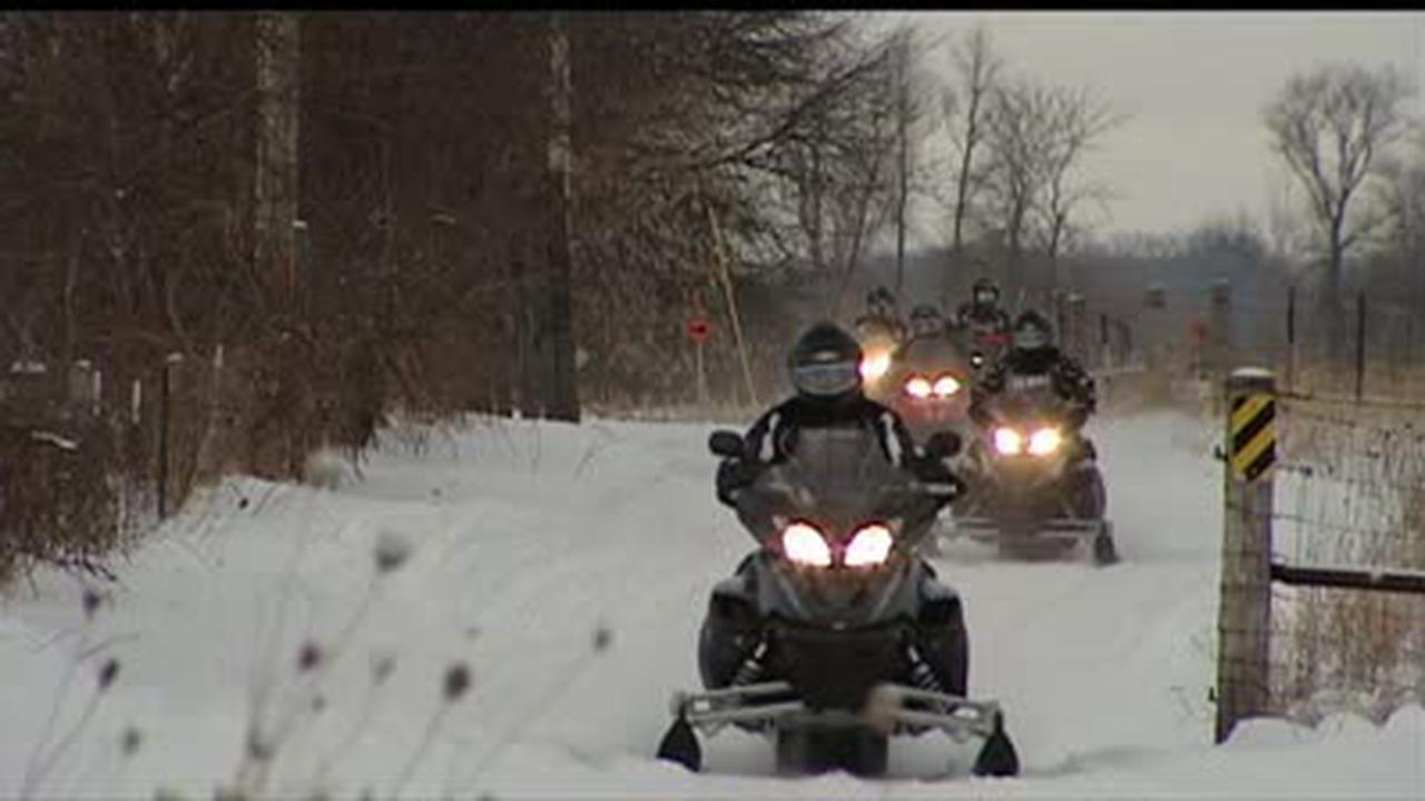Select snowmobile trails may open this week, Dane County Parks says