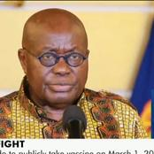 Summary Of Prez. Akuffo-Addo's 24th Address To Ghanaians; All You Need To Know