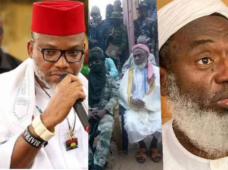 Nnamdi Kanu Alleged That Sheikh Gumi Once Said