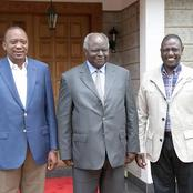 Kibaki's Message To Uhuru In Presence Of Ruto