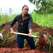Meet Ange the humble daughter of a president (see pictures)