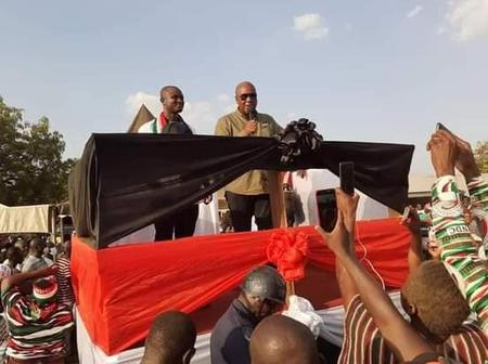 ELECTION2020: John Mahama pulls another crowd in Yendi