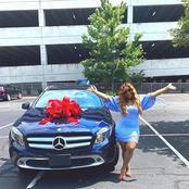 See The Classic Mercedes Benz GLA 250 Davido's Cousin Got as a Gift
