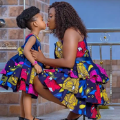 Elegant Ankara Styles for Mother And Daughter