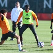 Photos: Manchester United hold first training session ahead of Sunday's showdown with Chelsea