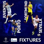 Today's champions League fixtures and matches just for you