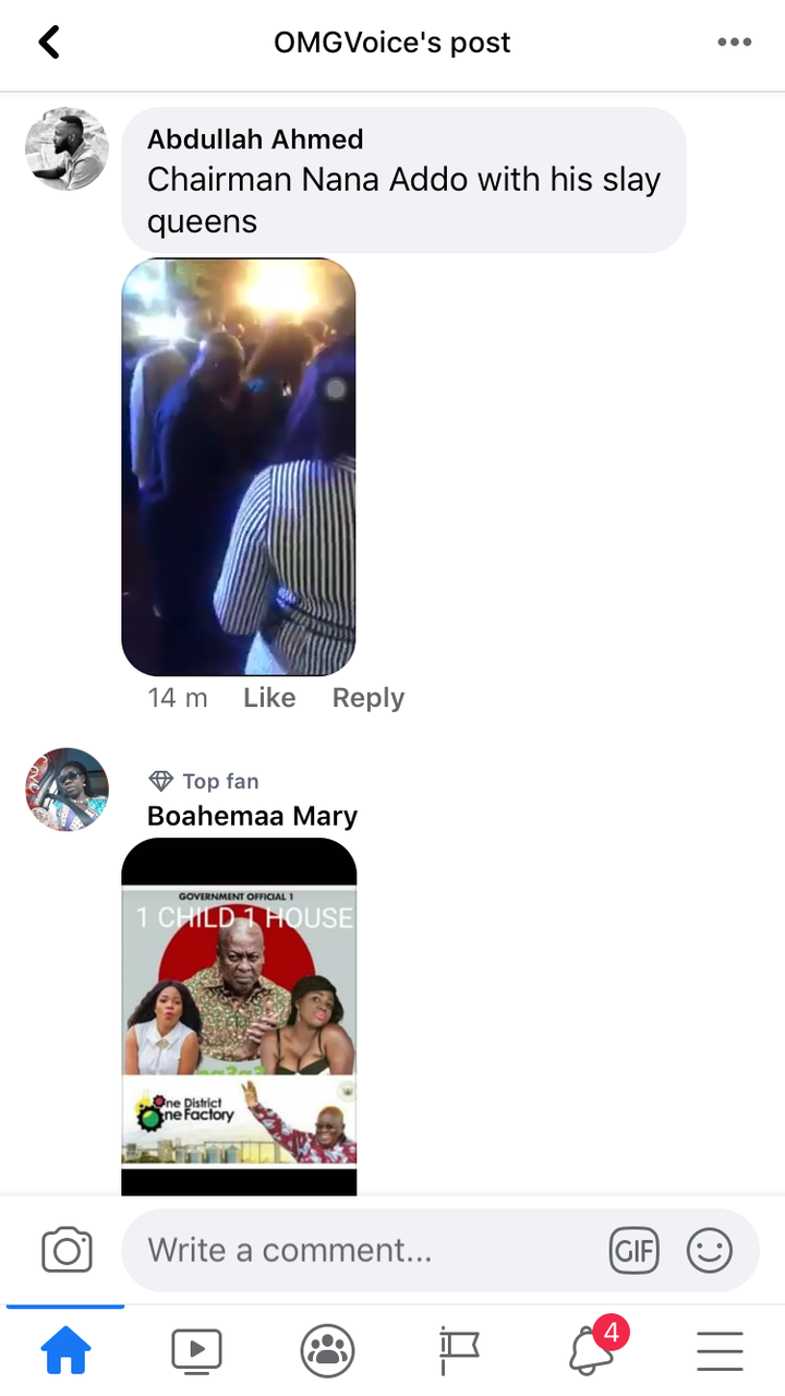 """4ed2422a103298cf3b53f93ae78b6fba?quality=uhq&resize=720 - He's The Real (Papa No)"""" - Ghanaians Reacts To A Photo Of Nana Addo Having A Good Time With A Lady"""